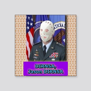 Jason DIRNSA Sticker