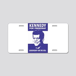 Kennedy Campaign Aluminum License Plate