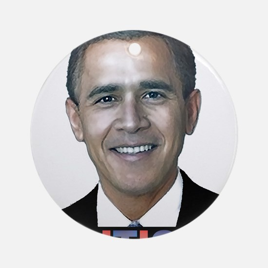 George_obama.png Ornament (Round)