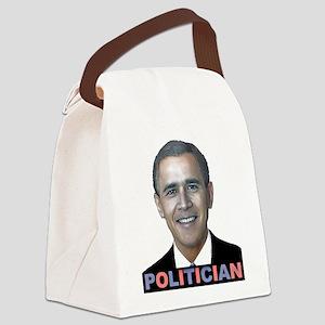 George_obama Canvas Lunch Bag