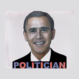 George_obama Throw Blanket
