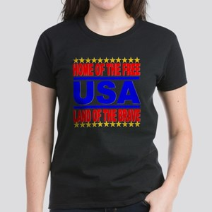 USA Home of The Brave Land Of The Free T-Shirt