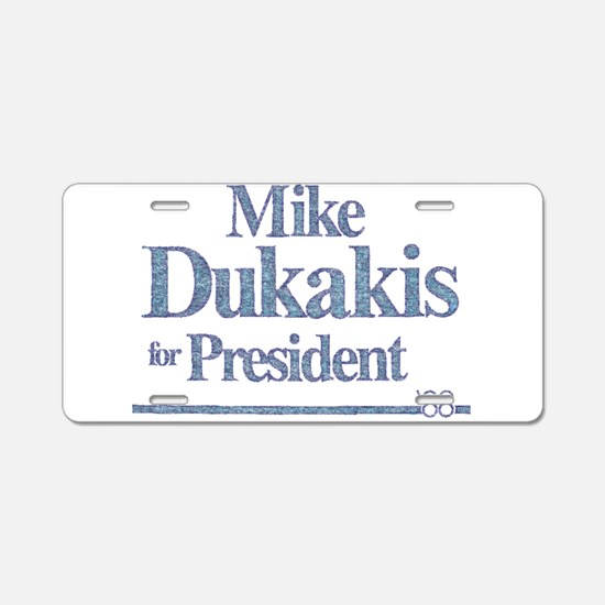 MikeDukakis.png Aluminum License Plate