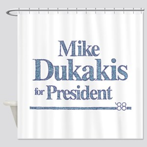 MikeDukakis Shower Curtain