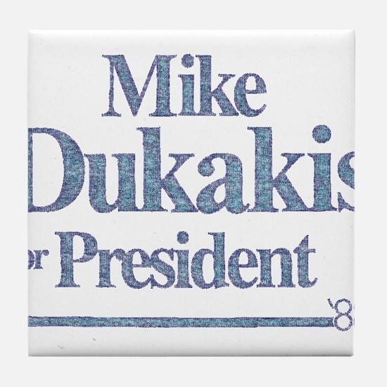 MikeDukakis.png Tile Coaster
