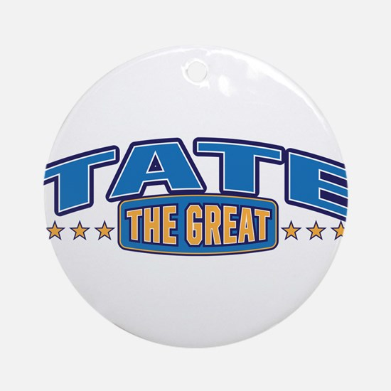 The Great Tate Ornament (Round)