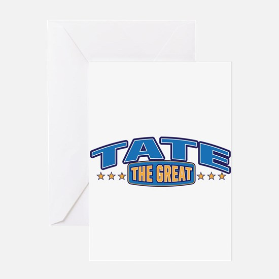The Great Tate Greeting Card