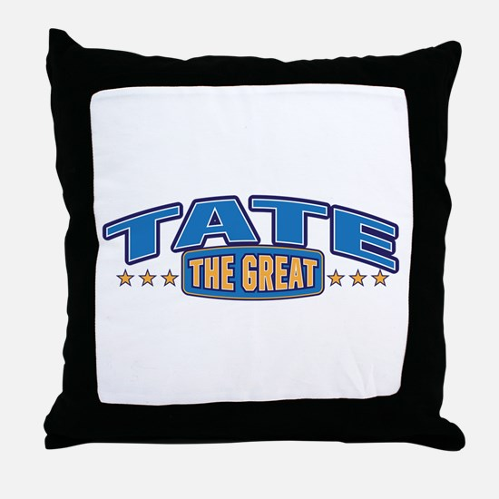 The Great Tate Throw Pillow