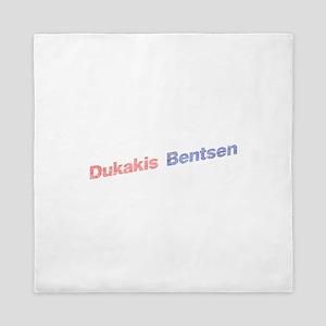 Dukakis-Bentson Queen Duvet