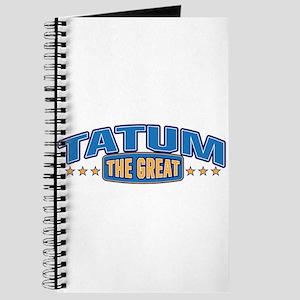 The Great Tatum Journal