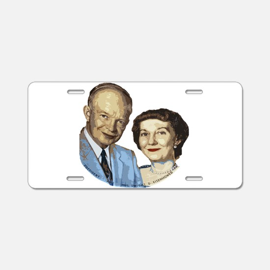 ikeandwife.png Aluminum License Plate