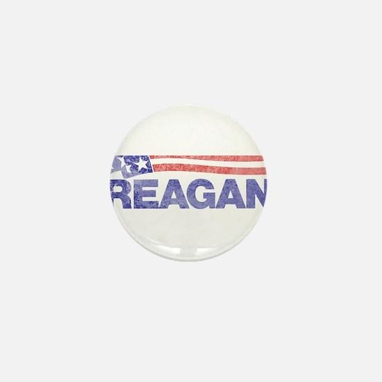 fadedronaldreagan1976.png Mini Button
