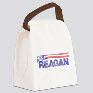 fadedronaldreagan1976 Canvas Lunch Bag