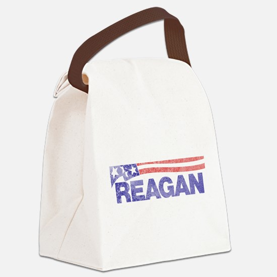 fadedronaldreagan1976.png Canvas Lunch Bag