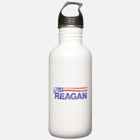 fadedronaldreagan1976.png Water Bottle