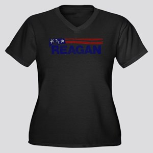 fadedronaldreagan1976 Plus Size T-Shirt