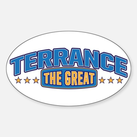 The Great Terrance Decal