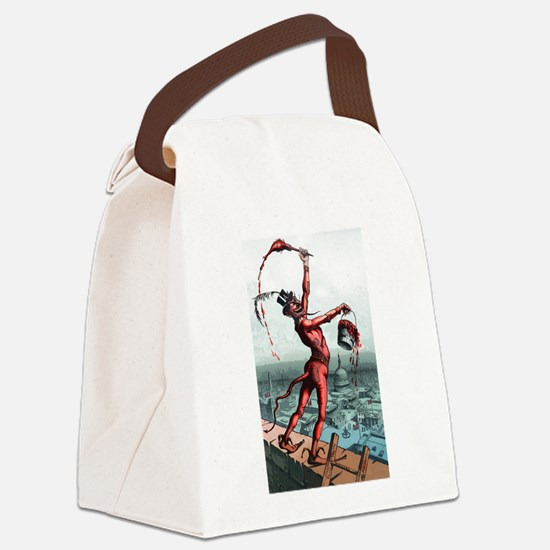 paint_the_town_red.png Canvas Lunch Bag
