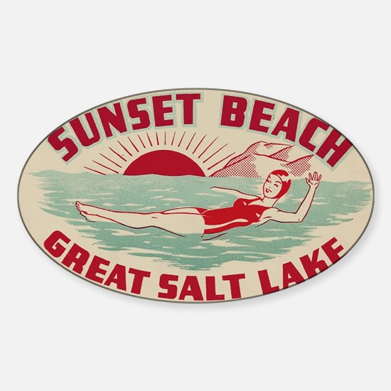 Sunset Beach Salt Lake Decal