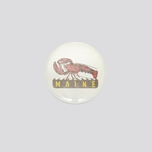 Vintage Maine Lobster Mini Button