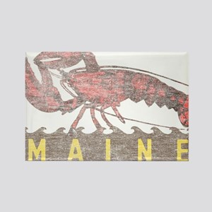 Vintage Maine Lobster Rectangle Magnet