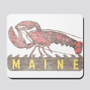 Vintage Maine Lobster Mousepad