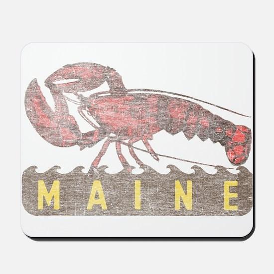 Vintage Maine Lobster Mousepad