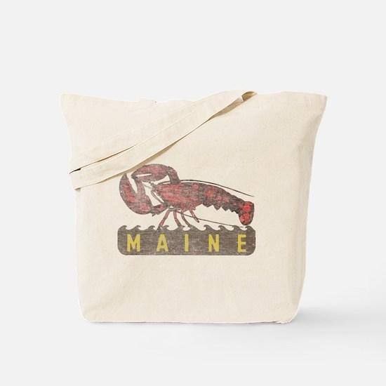 Vintage Maine Lobster Tote Bag