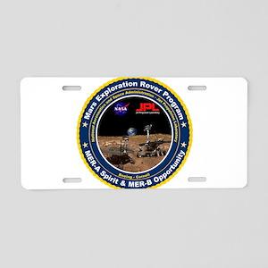 MER Aluminum License Plate