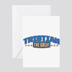 The Great Tristian Greeting Card