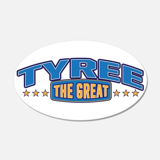 The Great Tyree Wall Decal