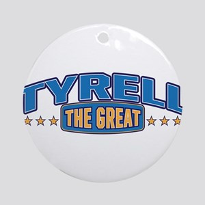 The Great Tyrell Ornament (Round)