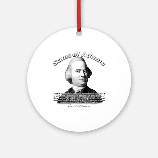 Samuel Adams 01 Ornament (Round)