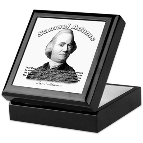 Samuel Adams 01 Keepsake Box