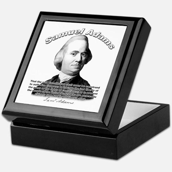 Samuel Adams 01 Keepsake Box