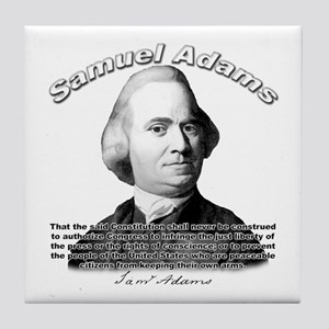 Samuel Adams 01 Tile Coaster