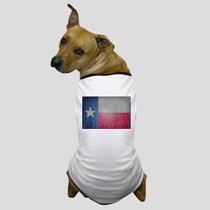 Texas Flag Faded Dog T-Shirt