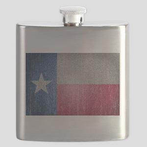 Texas Flag Faded Flask