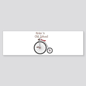 Kickin It Bumper Sticker