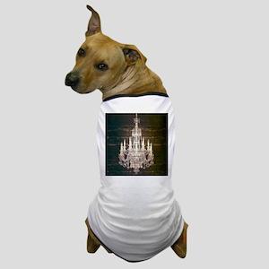 Shabby Chic Chandelier Dog T-Shirt