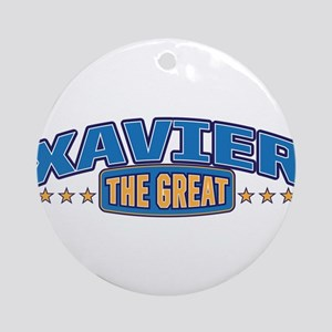 The Great Xavier Ornament (Round)