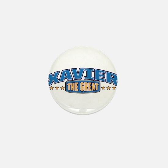 The Great Xavier Mini Button