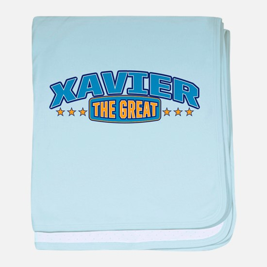 The Great Xavier baby blanket