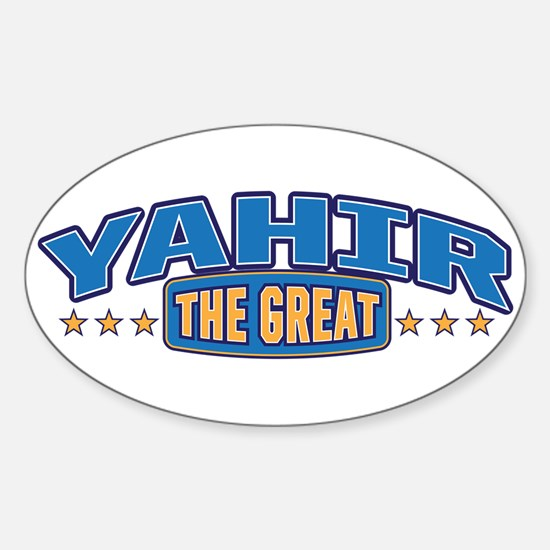 The Great Yahir Decal