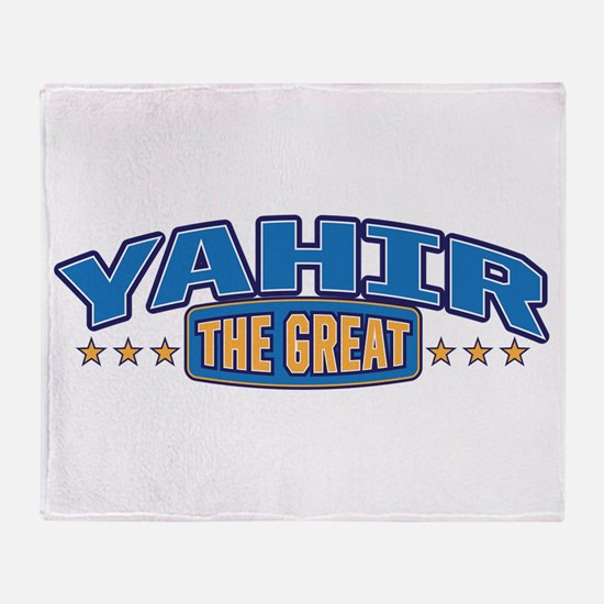 The Great Yahir Throw Blanket