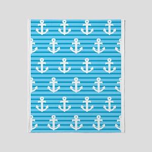 'Sea Anchors' Throw Blanket