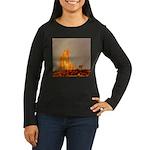 Monument Valley Women's Long Sleeve Dark T-Shirt