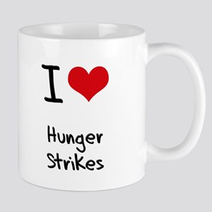 I Love Hunger Strikes Mug