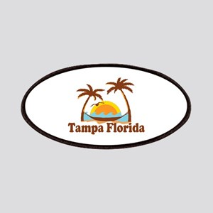 Tampa Florida - Palm Trees Design. Patches