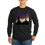 Monument Valley Storm Duo Long Sleeve Dark T-Shirt